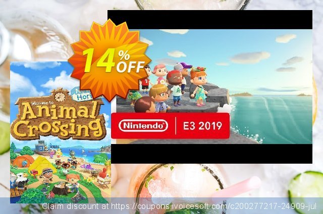 Animal Crossing: New Horizons Switch discount 16% OFF, 2021 Oceans Month offering sales. Animal Crossing: New Horizons Switch Deal