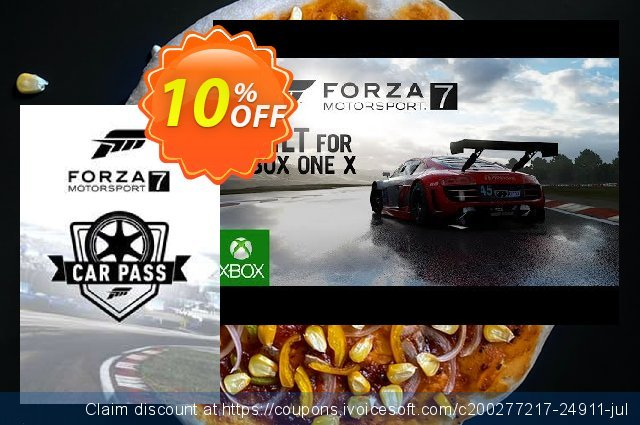 Forza Motorsport 7: Car Pass Xbox One/PC discount 10% OFF, 2020 Halloween sales