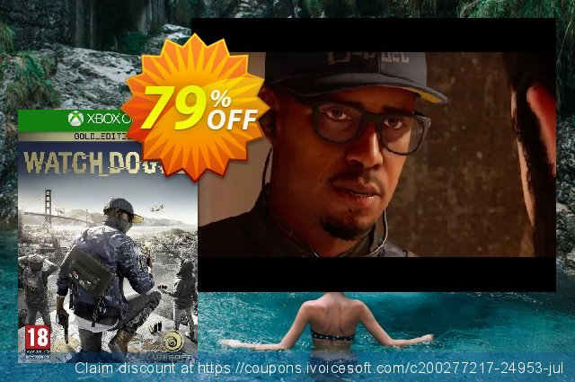 Watch Dogs 2 Gold Edition Xbox One discount 73% OFF, 2021 National Women month offering sales