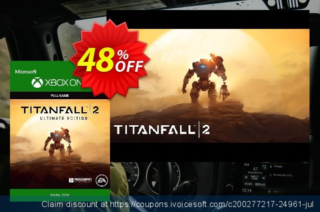 Titanfall 2: Ultimate Edition Xbox One discount 80% OFF, 2020 Halloween offering sales
