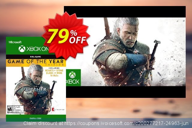 The Witcher 3 Wild Hunt - Game of the Year Edition Xbox One  경이로운   프로모션  스크린 샷