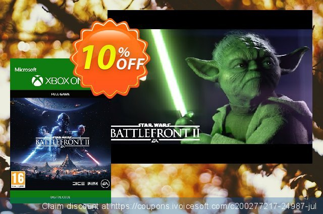 Star Wars Battlefront 2 Xbox One discount 10% OFF, 2021 Daylight Saving offering sales
