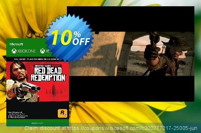 Red Dead Redemption Xbox 360/Xbox One  대단하   프로모션  스크린 샷