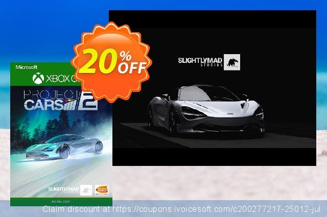 Project Cars 2 Xbox One discount 20% OFF, 2020 Halloween offering deals