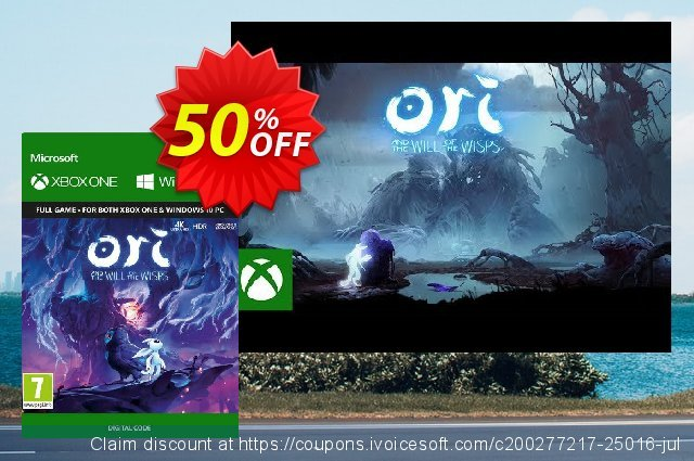 Ori & the Will of the Wisps Xbox One / PC 优秀的 促销 软件截图