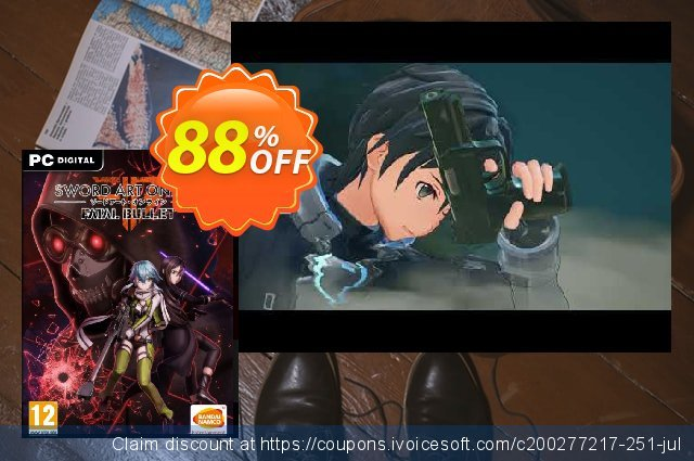 SWORD ART ONLINE: Fatal Bullet PC  대단하   제공  스크린 샷
