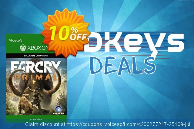 Far Cry Primal Xbox One discount 21% OFF, 2020 Halloween promo