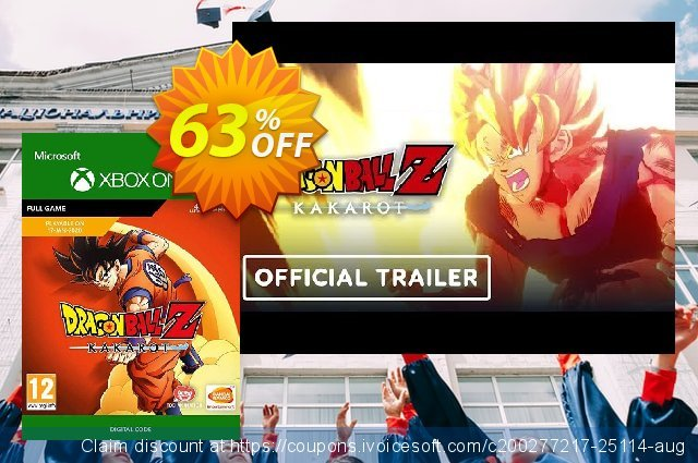 Dragon Ball Z: Kakarot Xbox One discount 20% OFF, 2020 University Student deals offering sales