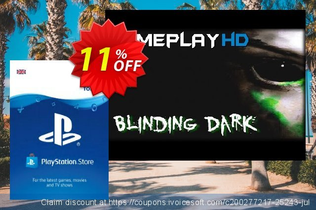Playstation Network (PSN) Card - £90 (UK) discount 11% OFF, 2020 Halloween offering sales