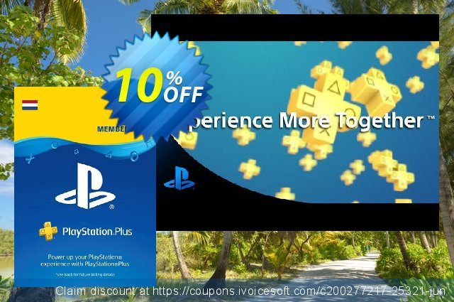 Playstation Plus (PS+) - 12 Month Subscription (Netherlands) discount 10% OFF, 2020 Exclusive Student discount offering sales