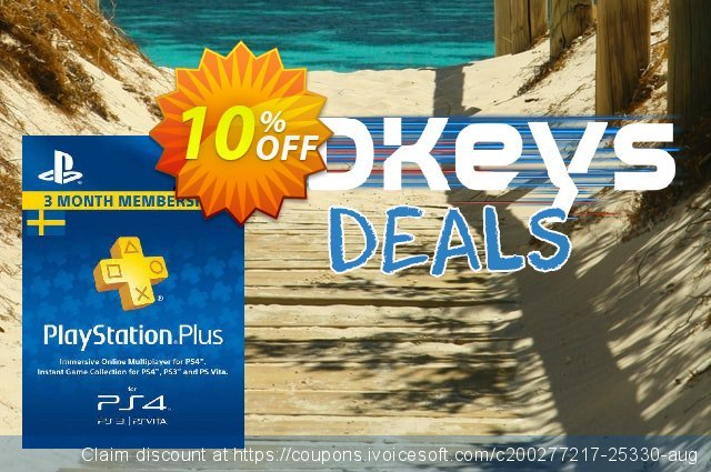Playstation Plus - 3 Month Subscription (Sweden)  훌륭하   세일  스크린 샷