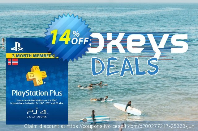 Playstation Plus - 3 Month Subscription (Norway)  놀라운   할인  스크린 샷