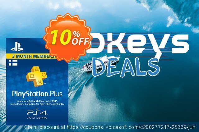 Playstation Plus - 3 Month Subscription (Finland) discount 10% OFF, 2021 Selfie Day offering deals. Playstation Plus - 3 Month Subscription (Finland) Deal
