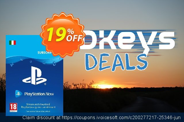 PlayStation Now 12 Month Subscription (Italy)  신기한   가격을 제시하다  스크린 샷