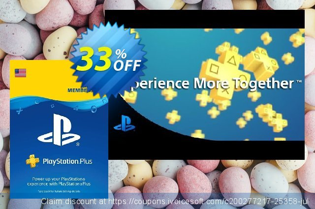 1-Year PlayStation Plus Membership (PS+) - PS3/PS4/PS Vita Digital Code (USA) discount 43% OFF, 2021 Teddy Day offer