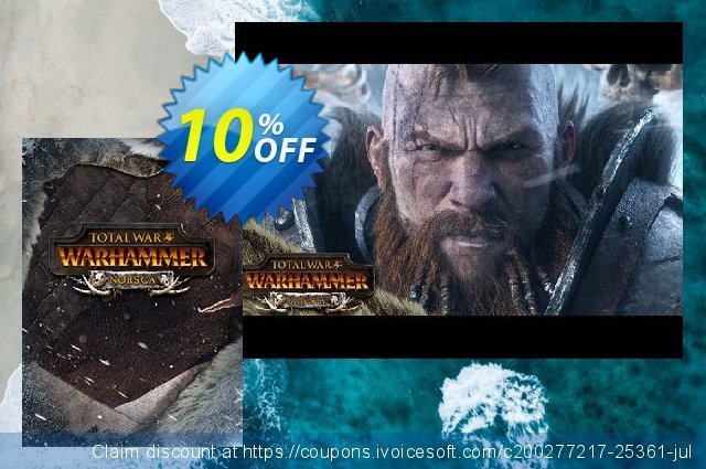 Total War Warhammer PC - Norsca DLC discount 10% OFF, 2020 Fourth of July offering sales