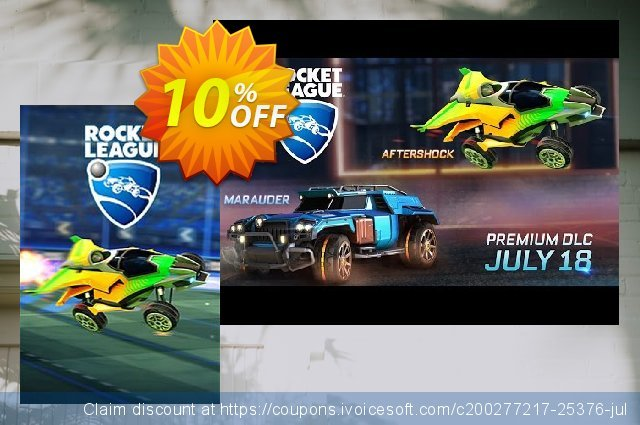 Rocket League PC - Aftershock DLC discount 10% OFF, 2021 New Year sales