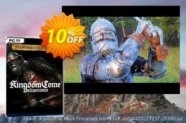 Kingdom Come Deliverance PC : Treasures of the past DLC discount 10% OFF, 2021 Teddy Day offering sales