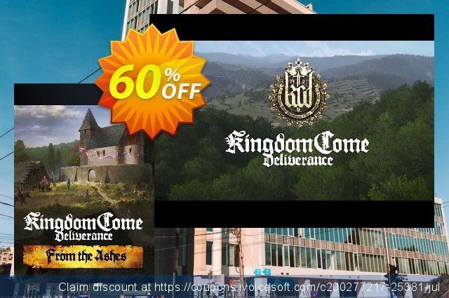 Kingdom Come Deliverance PC - From the Ashes DLC discount 60% OFF, 2021 National Women month promo sales