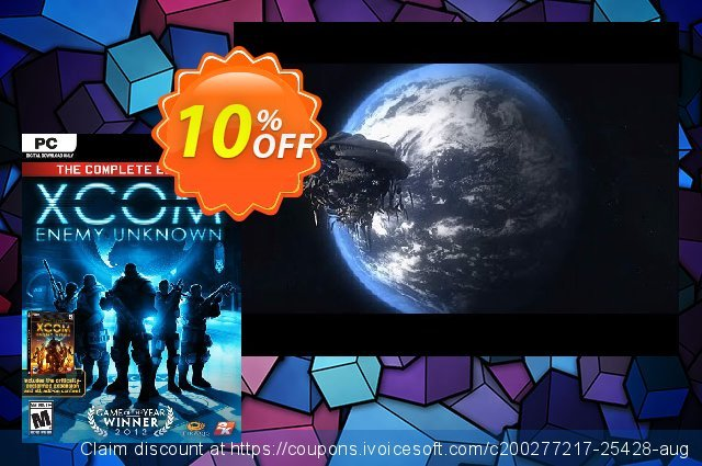 XCOM Enemy Unknown Complete Edition PC (EU) discount 10% OFF, 2021 January offering sales