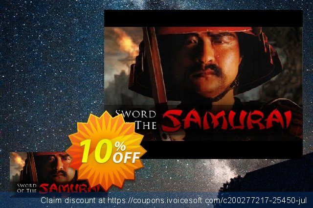 Sword of the Samurai PC discount 10% OFF, 2021 Earth Hour sales
