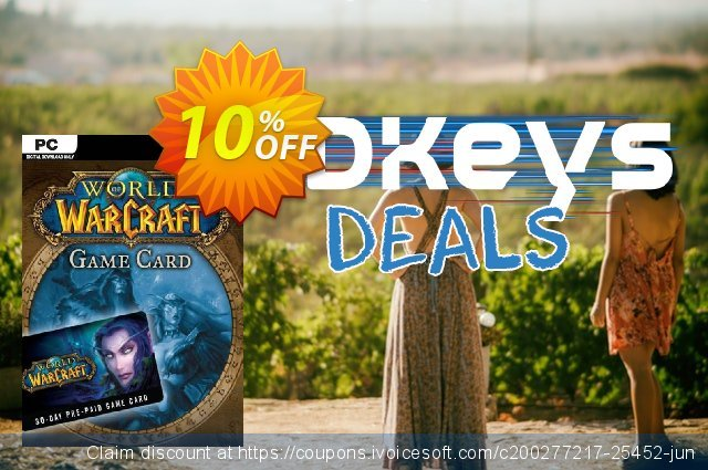 World of Warcraft 30 Day Pre-Paid Game Card PC/Mac discount 10% OFF, 2020 Halloween offering sales