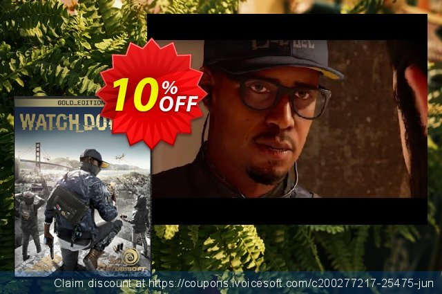 Watch Dogs 2 Gold Edition PC discount 10% OFF, 2021 Daylight Saving offering deals
