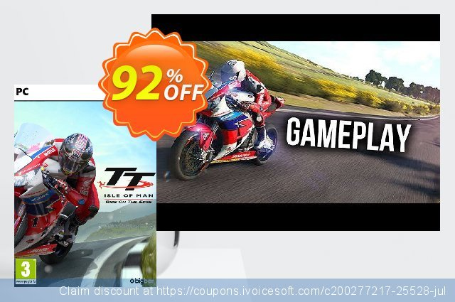 TT Isle Of Man - Ride on the Edge PC discount 80% OFF, 2020 Back to School coupons promo sales