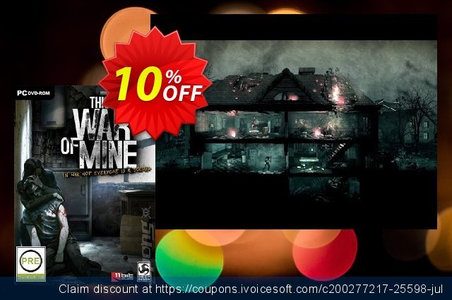 This War of Mine PC discount 10% OFF, 2020 Halloween discount