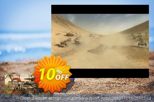 Theatre of War 2 Africa 1943 PC discount 10% OFF, 2021 Happy New Year discounts