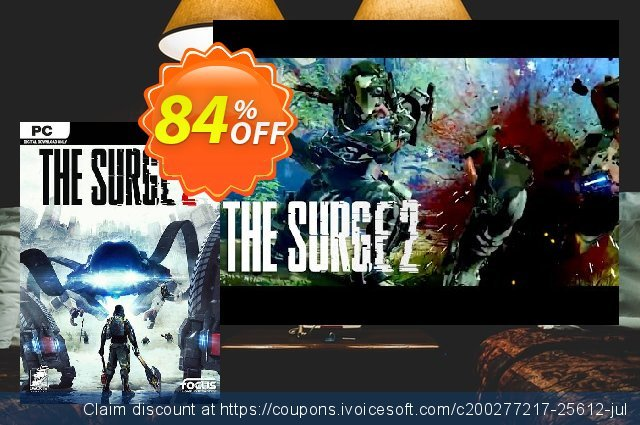 The Surge 2 PC discount 45% OFF, 2020 Thanksgiving promotions