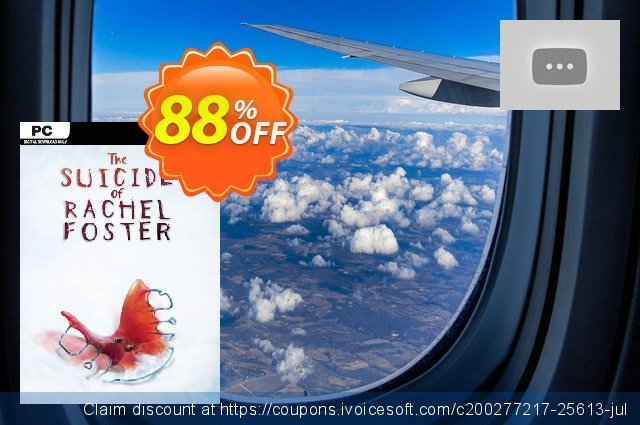 The Suicide of Rachel Foster PC discount 48% OFF, 2020 Thanksgiving Day sales