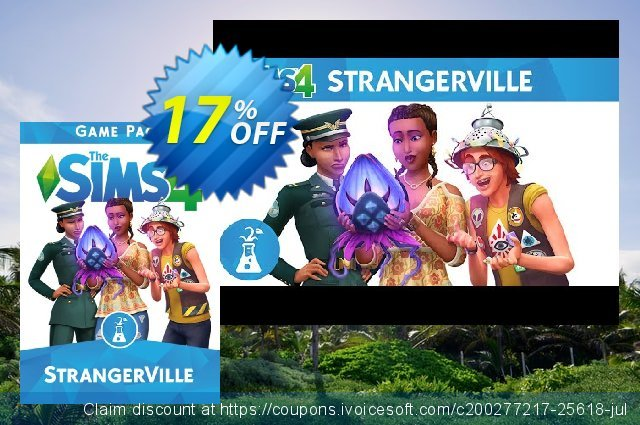 The Sims 4 StrangerVille Game Pack PC discount 22% OFF, 2020 University Student deals discount