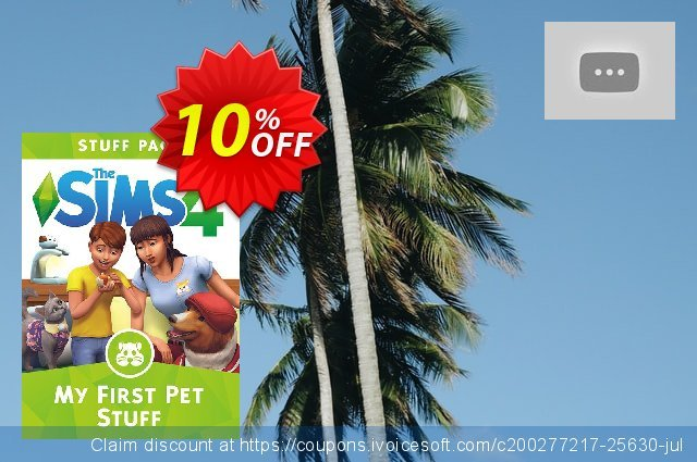The Sims 4 - My First Pet Stuff PC discount 10% OFF, 2020 Halloween offering sales