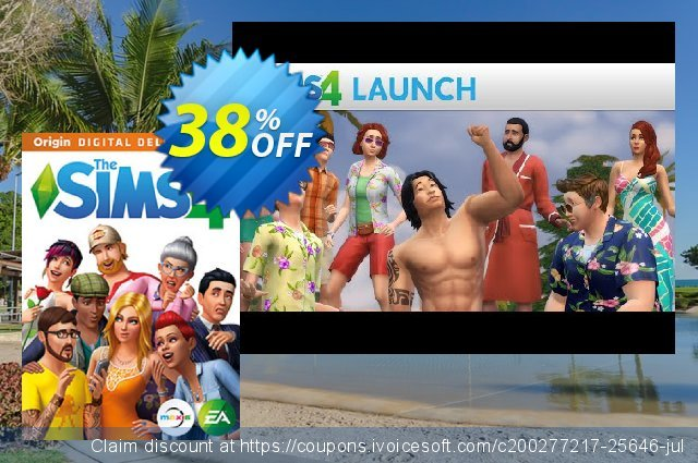 The Sims 4 - Deluxe Edition PC (WW) discount 28% OFF, 2020 Thanksgiving Day offering sales