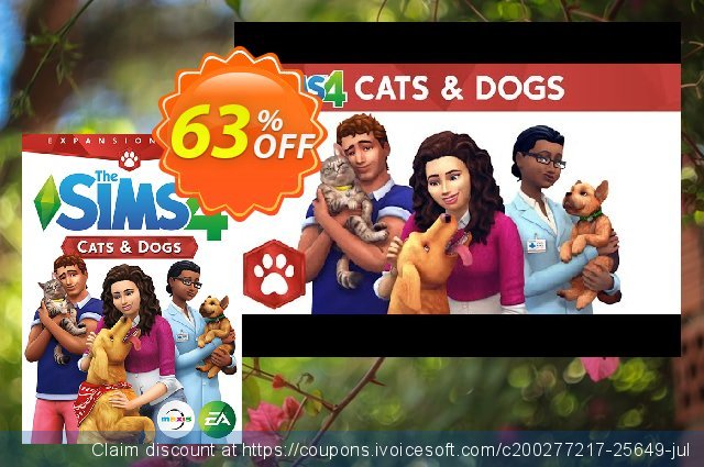The Sims 4 - Cats and Dogs Expansion Pack PC/Mac 대단하다  프로모션  스크린 샷