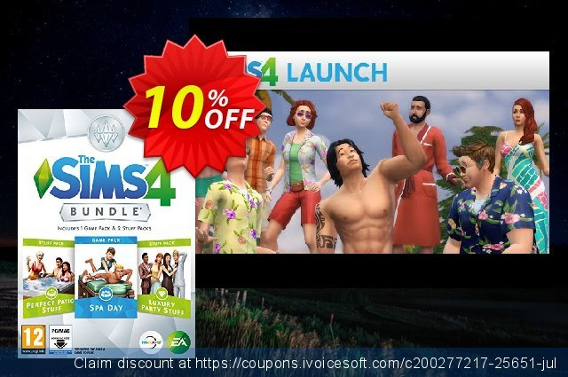 The Sims 4 - Bundle Pack 1 PC discount 37% OFF, 2020 Halloween promotions