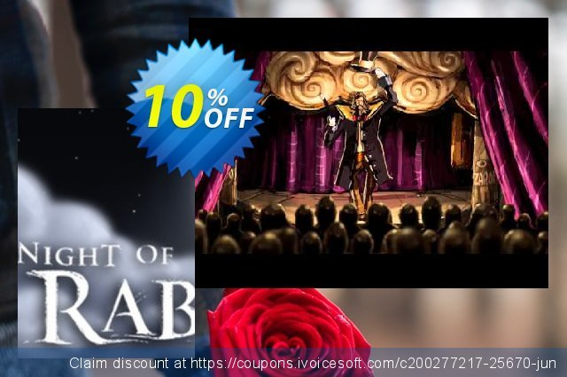 The Night of the Rabbit PC discount 10% OFF, 2020 Back to School event offering sales