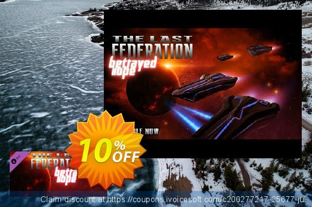 The Last Federation Betrayed Hope PC discount 10% OFF, 2020 Christmas Day promo