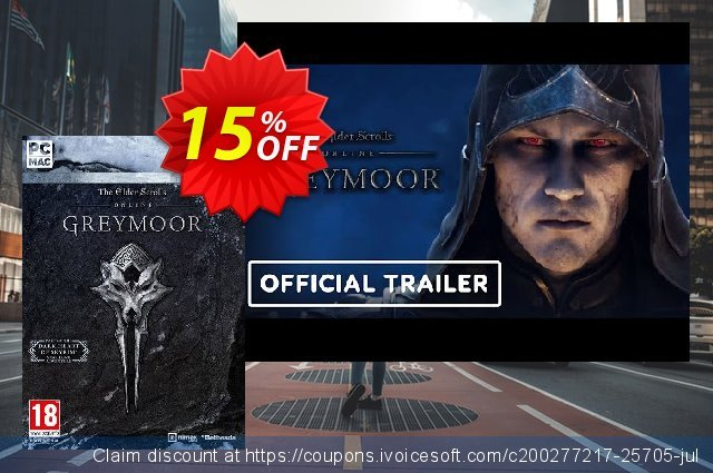 The Elder Scrolls Online - Greymoor PC discount 54% OFF, 2020 Thanksgiving offering sales