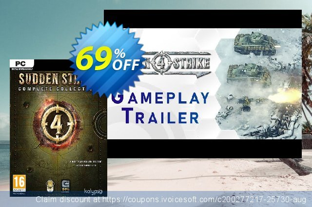 Sudden Strike 4 - Complete Collection PC discount 71% OFF, 2020 Thanksgiving Day discount