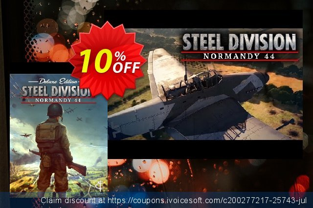 Steel Division Normandy 44 Deluxe Edition PC discount 10% OFF, 2020 University Student offer offering sales