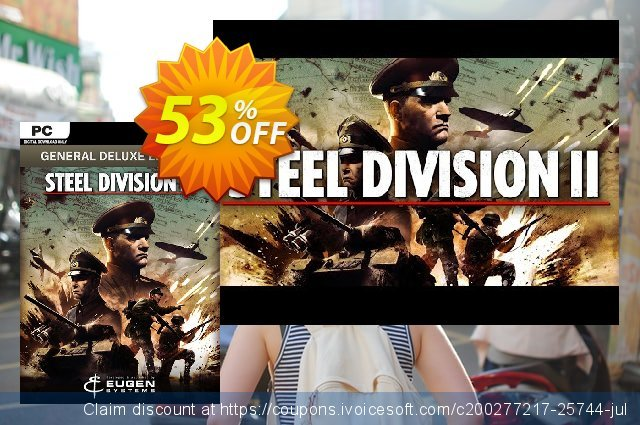 Steel Division 2 - General Deluxe Edition PC discount 29% OFF, 2020 Thanksgiving discounts