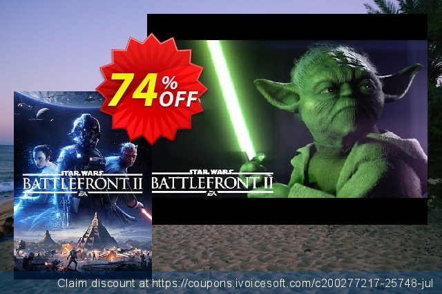 Star Wars Battlefront II 2 PC discount 80% OFF, 2020 Thanksgiving Day offer