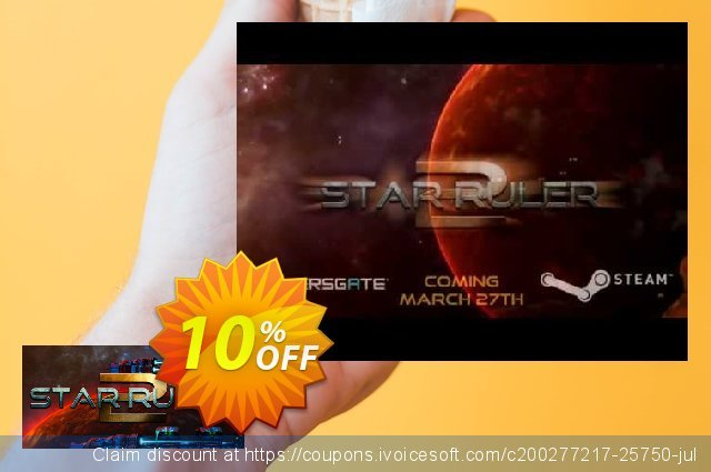 Star Ruler 2 PC discount 10% OFF, 2020 Xmas Day offering sales