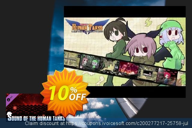 Sound of the Human Tanks PC discount 10% OFF, 2020 Black Friday offering sales
