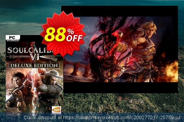 Soulcalibur VI 6 Deluxe Edition PC discount 73% OFF, 2020 Xmas Day offering sales