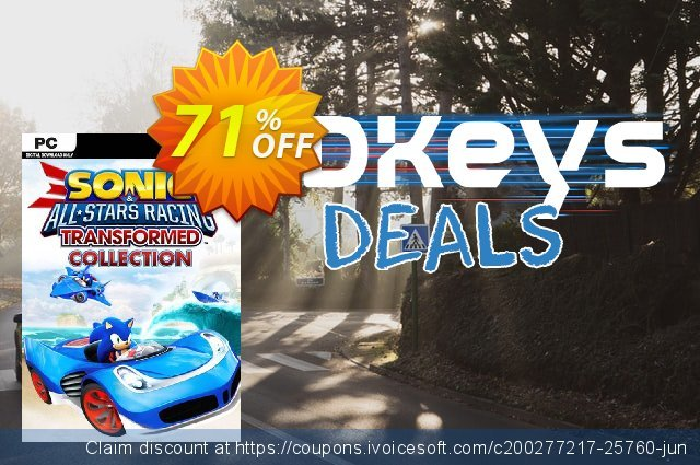 Sonic & All-Stars Racing Transformed Collection PC discount 53% OFF, 2020 Thanksgiving Day offering sales