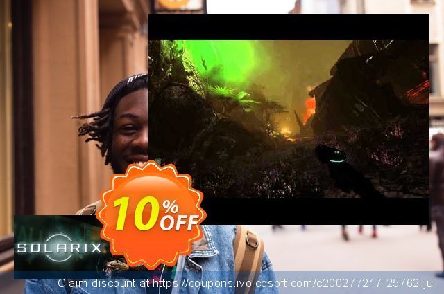 Solarix PC discount 10% OFF, 2020 Thanksgiving offering sales