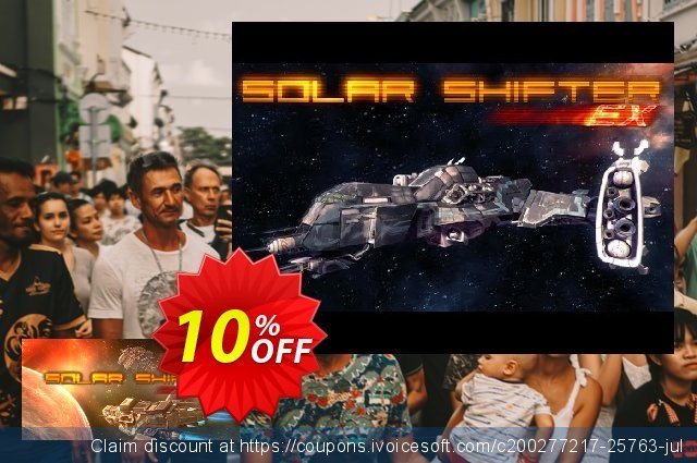 Solar Shifter EX PC discount 10% OFF, 2020 Thanksgiving Day discounts